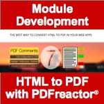 Module Development - HTML to PDF with PDFReactor